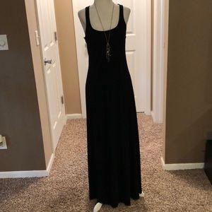 Mossimo Black racerback maxi dress